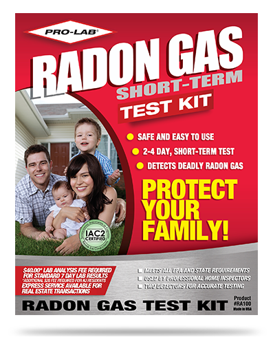 Radon Gas (Short Term)